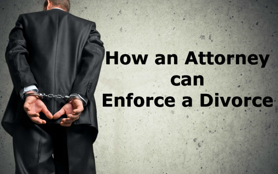 How an attorney can help enforce a Divorce in Alabama